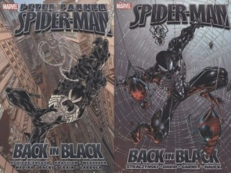 Spinnenmann zurück in Schwarz
