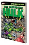 The Incredible Hulk Epic Collection (2017) TPB 01: Man or Monster?