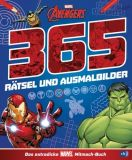 Avengers: 365 Rätsel und Ausmalbilder - Das extradicke MARVEL-Mitmach-Buch (2021) SC
