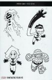 Fantastic Four (2018) 05 [650] [Skottie Young Party Sketch Variant Cover]
