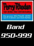 Perry Rhodan Romanhefte 0950-0999 im Set