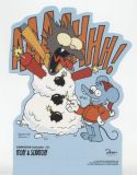 Simpsons-Aufsteller 3: Itchy & Scratchy