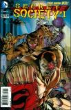 Justice League (2011) 23.4: Secret Society #1 [3-D Cover]