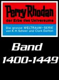 Perry Rhodan Romanhefte 1400-1449 im Set