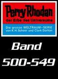 Perry Rhodan Romanhefte 0500-0549 im Set