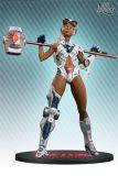 AME-COMI Heroine Series: Steel PVC Figure