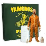 Breaking Bad: Heisenberg (Walter White) Action Figure - Orange Hazmat Suit