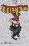 Spider-Woman (2014) 01: Spider-Verse [Skottie Young Baby Cover]