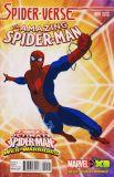 Amazing Spider-Man (2014) 09: Spider-Verse (Web Warriors Animation Variant Cover)