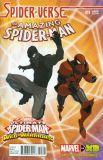 Amazing Spider-Man (2014) 11: Spider-Verse (Web Warriors Animation Variant Cover)