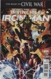 Invincible Iron Man (2015) 11: The Road to Civil War II