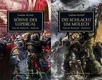 Geist der Rachsucht Band 1+2 (The Horus Heresy - Set mit Die Söhne des Lupercal + Die Schlacht um Molech)