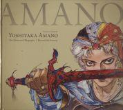 Yoshitaka Amano: The Illustrated Biography - Beyond the Fantasy (2018) HC