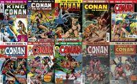 True Believers: Conan the Barbarian (2018) Komplettset von 10 Heften