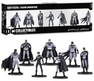 Batman Black & White Mini Figure 7-Pack - Serie 1