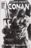 Savage Sword of Conan (2019) TPB 01: The Cult of Koga Thun [Black & White Edition]