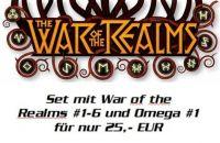 The War of the Realms (2019) - Set mit Heft #1-6 und Omega #1