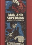 Man and Superman and other stories illustrated by Harvey Kurtzman (2020) HC