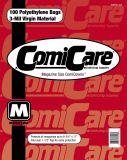 ComiCare Magazine Comic Bags 100 Stück: ca. 22,3 x 29,2 cm, mit Lasche