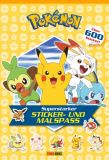 Pokémon - Superstarker Sticker- und Malspass