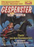 Gespenster-Geschichten (1980) Taschenbuch 15: Flucht aus dem Dämonenreich