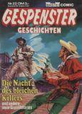 Gespenster-Geschichten (1980) Taschenbuch 22: Die Nacht des bleichen Killers