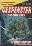 Gespenster-Geschichten (1980) Taschenbuch 43: Dämonenbrut