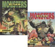Ditko Monsters: Konga! + Gorgo! (2 Hardcover-Bände im Set)