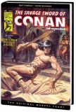 The Savage Sword of Conan the Barbarian (1974) The Original Marvel Years Omnibus HC 04 (Direct Market Variant)