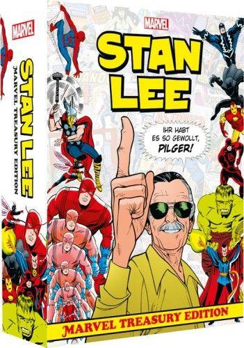 Stan Lee Marvel Treasury Edition
