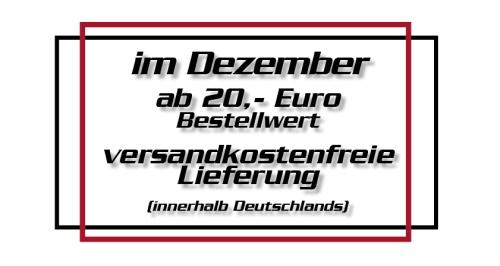 Versandkostenfreie Lieferung innerhalb Deutschlands ab 20,- EUR Bestellwert!